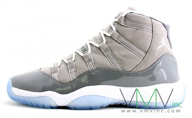 "Air Jordan 11 (GS) ""Cool Grey"" New Pictures  39f437150007"