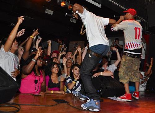 "hot sale online ce9a7 61900 Big Sean Wearing The Air Jordan 13 ""Flints"" | Karmalifee"