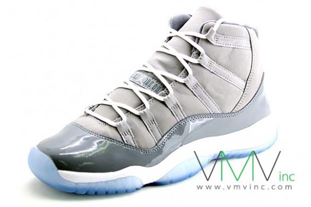 These are new pictures of the Grade School Cool Grey 11 s. Pictures of the  Mens coming soon. 4e0a630a4bdf